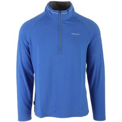 クラッグホッパーズ Craghoppers メンズ トップス Nosilife Felix L/S Zip Neck Shirt Sport Blue
