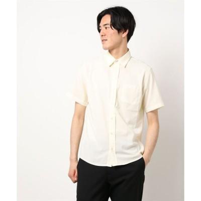 シャツ ブラウス 【BURNER SELECT】ポリエステルラミー レギュラーカラーシャツ  SS