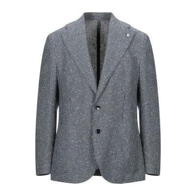 エル・ビー・エム 1911 L.B.M. 1911 テーラードジャケット ブルー 52 コットン 52% / リネン 36% / ナイロン 12%