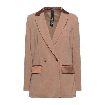 REVISE テーラードジャケット キャメル 42 ポリエステル 95% / ポリウレタン 5% テーラードジャケット