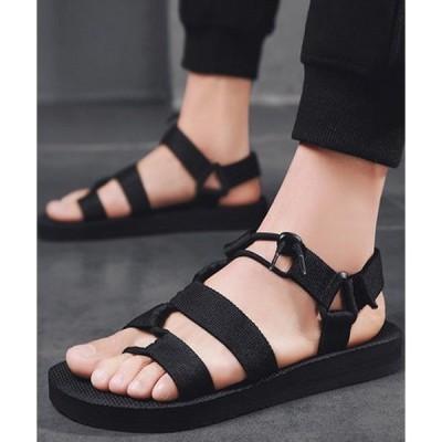 サンダル F&D : Cross Strap Sandals