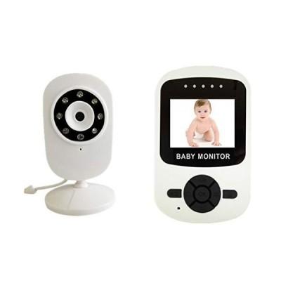 新品Wireless 2.4 Inch LCD Audio Video Baby Monitor Cry Reminder Equipment Music Intercom 24H Portable/Baby Monitor,US送料無料