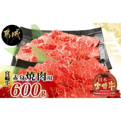 宮崎牛(A5)赤身焼肉600g_MA-0118