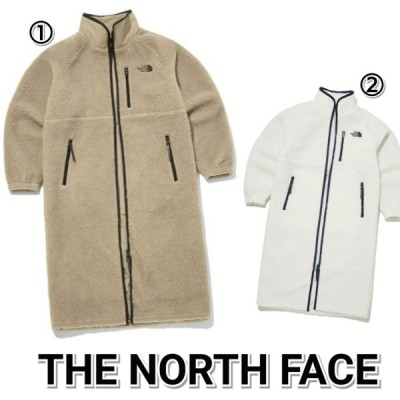 THE NORTH FACE ノースフェイス 新作 LONG TEDDY EX COAT 白 ベージュ メンズ レディース