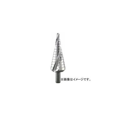 ALPEN 2枚刃スパイラルステップドリル 12mm ハイス 72200412(7666225)