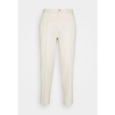 カジュアルフライデー メンズ ファッション PEPE PANTS - Trousers - light sand