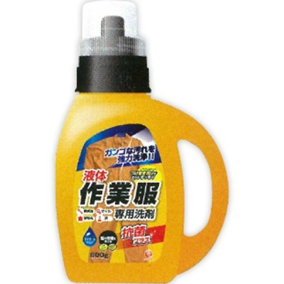 第一石鹸 作業服専用液体洗剤抗菌プラス800 本体