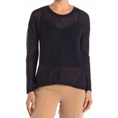 ファッション トップス Catherine Malandrino NEW Black Womens Size Small S Crewneck Sweater