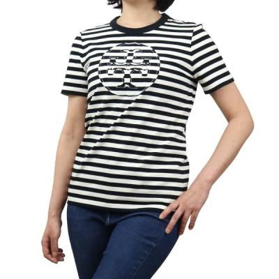 トリーバーチ TORY BURCH レディース−Tシャツ 63871 001 ブラック apparel-01 レディース ts-01