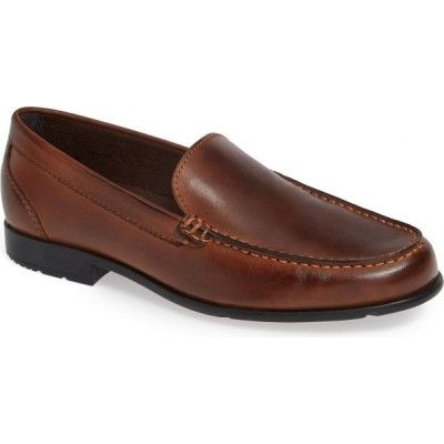 ロックポート ROCKPORT メンズ ローファー シューズ・靴 Classic Venetian Loafer Dark Brown Leather