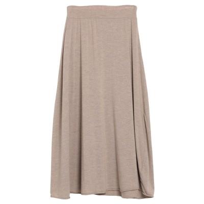 LABO.ART ロングスカート カーキ 1 ウール 97% / ポリウレタン 3% ロングスカート