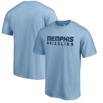 ファナティクス ブランデッド メンズ Tシャツ トップス Memphis Grizzlies Fanatics Branded Primary Wordmark T-Shirt