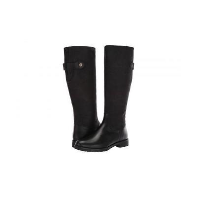 Joules レディース 女性用 シューズ 靴 ブーツ ロングブーツ Canterbury - Black