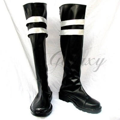 ディシディア ファイナルファンタジー セフィロス コスプレ 靴 ブーツ xz536(xz536)