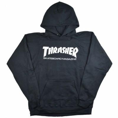 THRASHER Mag Logo プルオーバーパーカー BLACK