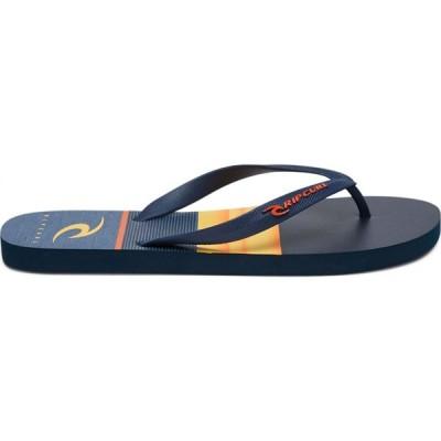 リップカール Rip curl メンズ ビーチサンダル シューズ・靴 hawken thongs Navy orange