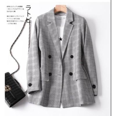 レディース テーラード おしゃれ スーツジャケット 上着 トップス アウター オフィス 通勤/OL ショート丈 細身 一つボタン 大人気 ブレザー ジャケット