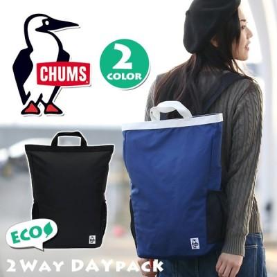 CHUMS チャムス トートバッグ リュック 2WAY レディース メンズ リュックサック デイパック バックパック Eco ブランド