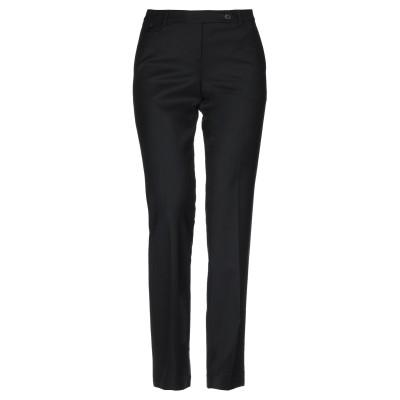 インコテックス INCOTEX パンツ ブラック 46 ウール 97% / ポリウレタン 3% パンツ