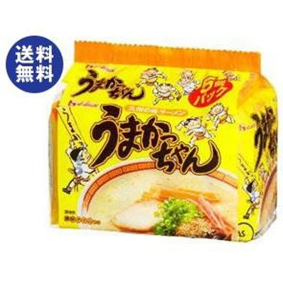 送料無料 ハウス食品九州の味ラーメンうまかっちゃん5食パック×6個入