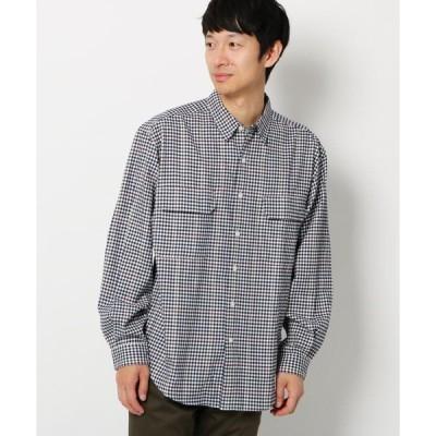 THE SHOP TK / ザ ショップ ティーケー 起毛チェック長袖シャツ