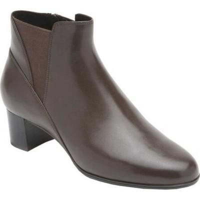 アラヴォン Aravon レディース ブーツ チェルシーブーツ シューズ・靴 Career Dress Chelsea Boot Brown Leather