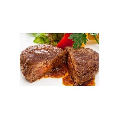 【お取り寄せ】 米沢牛黄木 米沢牛入り焼ハンバーグセット 6個 【W】