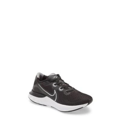 ナイキ レディース スニーカー シューズ Renew Run Running Shoe BLACK/ METALLIC SILVER/ WHITE