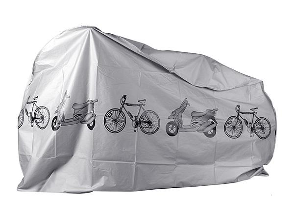 機車/自行車防塵防雨罩(灰色)1入【D081603】