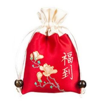 束口 香包袋 祝福 平安符 結緣 福袋 空袋 香包香囊 靜思語  新年 新春 端午節 【RD1532】《Jami》