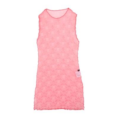 FRONT ROW SHOP ミニワンピース&ドレス レッド 34 ポリエステル 100% ミニワンピース&ドレス