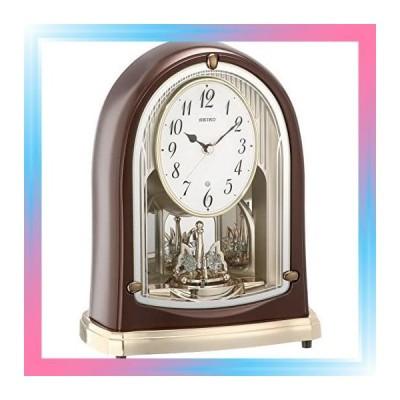 セイコー クロック 置き時計 スタンダード 電波時計 ツイン・パ