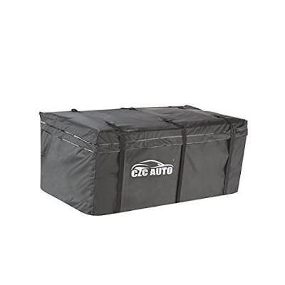 CZc自動Cargo旅行バッグ防水ソフトブラック–Attached to Hitchマウント 20 Cubic Feet 102003 S