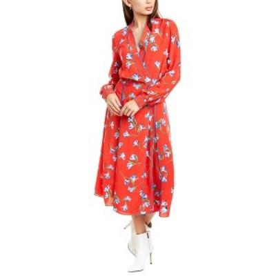 ラグアンドボーン レディース ワンピース トップス rag & bone Hugo Wrap Dress red floral