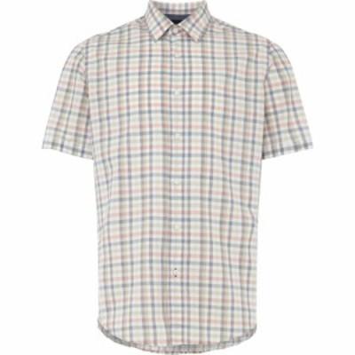 ヒューゴ ボス Boss メンズ 半袖シャツ トップス Luka 5 Short Sleeve Check Shirt White