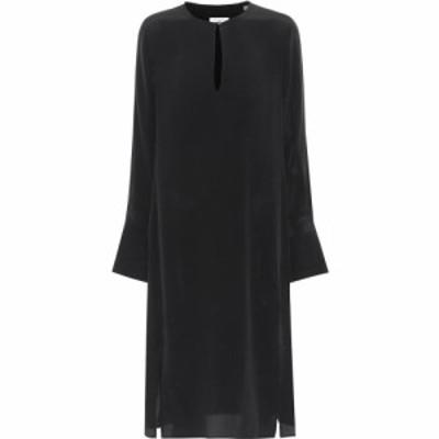エキプモン Equipment レディース ワンピース ワンピース・ドレス Granger silk dress True Black