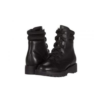 Cougar クーガー レディース 女性用 シューズ 靴 ブーツ レースアップ 編み上げ Gwen Waterproof - Black Leather