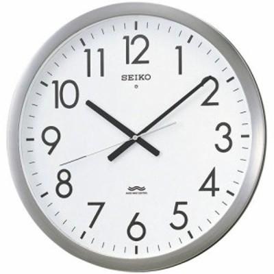 SEIKO セイコー 掛け時計 オフィス 電波 アナログ 金属枠 KS266S【お取り寄せ】