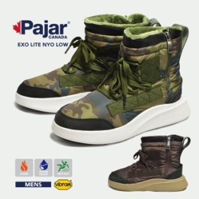 Pajar CANADA パジャールカナダ EXO LITE NYO LOW エクソライト ロー メンズ 男性 紳士 ブーツ 靴 防寒ブーツ 防水 アウトドア ウィンタ
