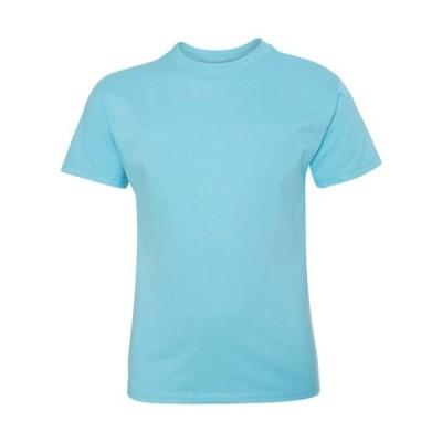 キッズ 衣類 トップス Hanes - Tagless(R) Youth Short Sleeve T-Shirt - 5450 - IWPF グラフィックティー
