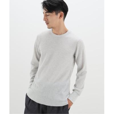 メンズ ベーセーストック 【sportswear/スポーツウェア】 7oz waffle ロングスリーブTシャツ グレーA M