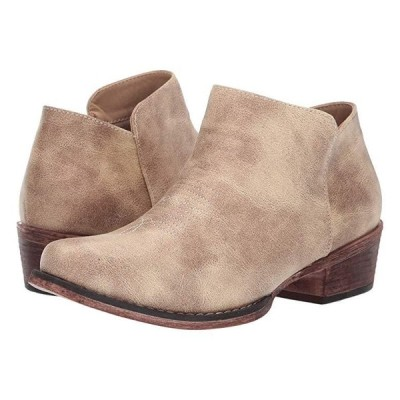 Roper Sofia レディース ブーツ Vintage Beige Faux Leather