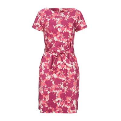 BRUNO MANETTI ミニワンピース&ドレス フューシャ 42 コットン 96% / ポリウレタン 4% ミニワンピース&ドレス