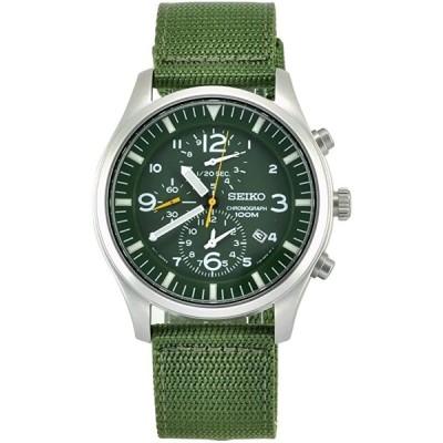 セイコー Seiko Men's SNDA27 Green Dial Watch 正規輸入品