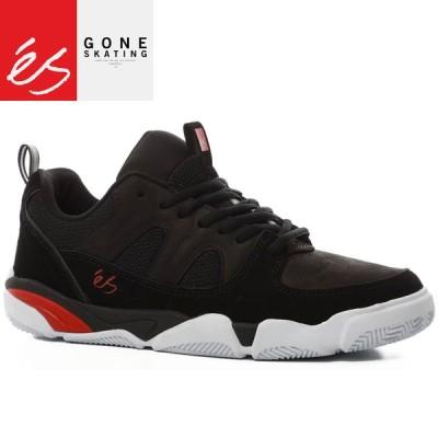 エス ES FOOTWEAR スケートシューズ スニーカー SILO MENIKMATI BLACK レザー スウェード NO123