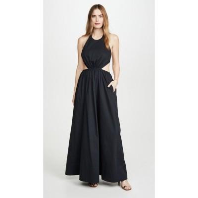 スタウド STAUD レディース ワンピース ワンピース・ドレス Apfel Dress Black
