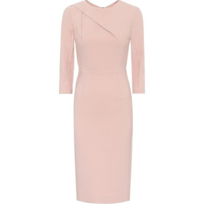 ローラン ムレ Roland Mouret レディース パーティードレス ワンピース・ドレス Exclusive to Mytheresa - Hisley stretch-crepe dress Pale Pink