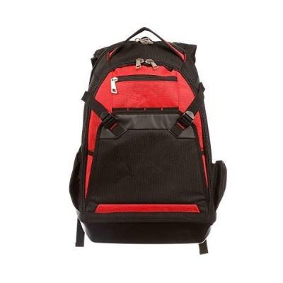 [新品]Tool Laptop Backpack Heavy Duty Storage Pocket Compartment Jobsite Bag With Ebook