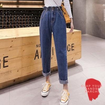 大きいサイズ デニム デニムパンツ レディース ファッション ぽっちゃり おおきいサイズ 対応 マムフィット ハイウエスト S M L LL 3L 4L 5L 6L 秋冬