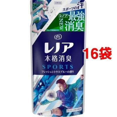 レノア 本格消臭 スポーツ フレッシュシトラスブルーの香り つめかえ用 (430ml*16コセット)